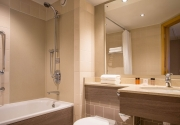 Guest Room Bathroom Clayton Hotel Manchester Airport