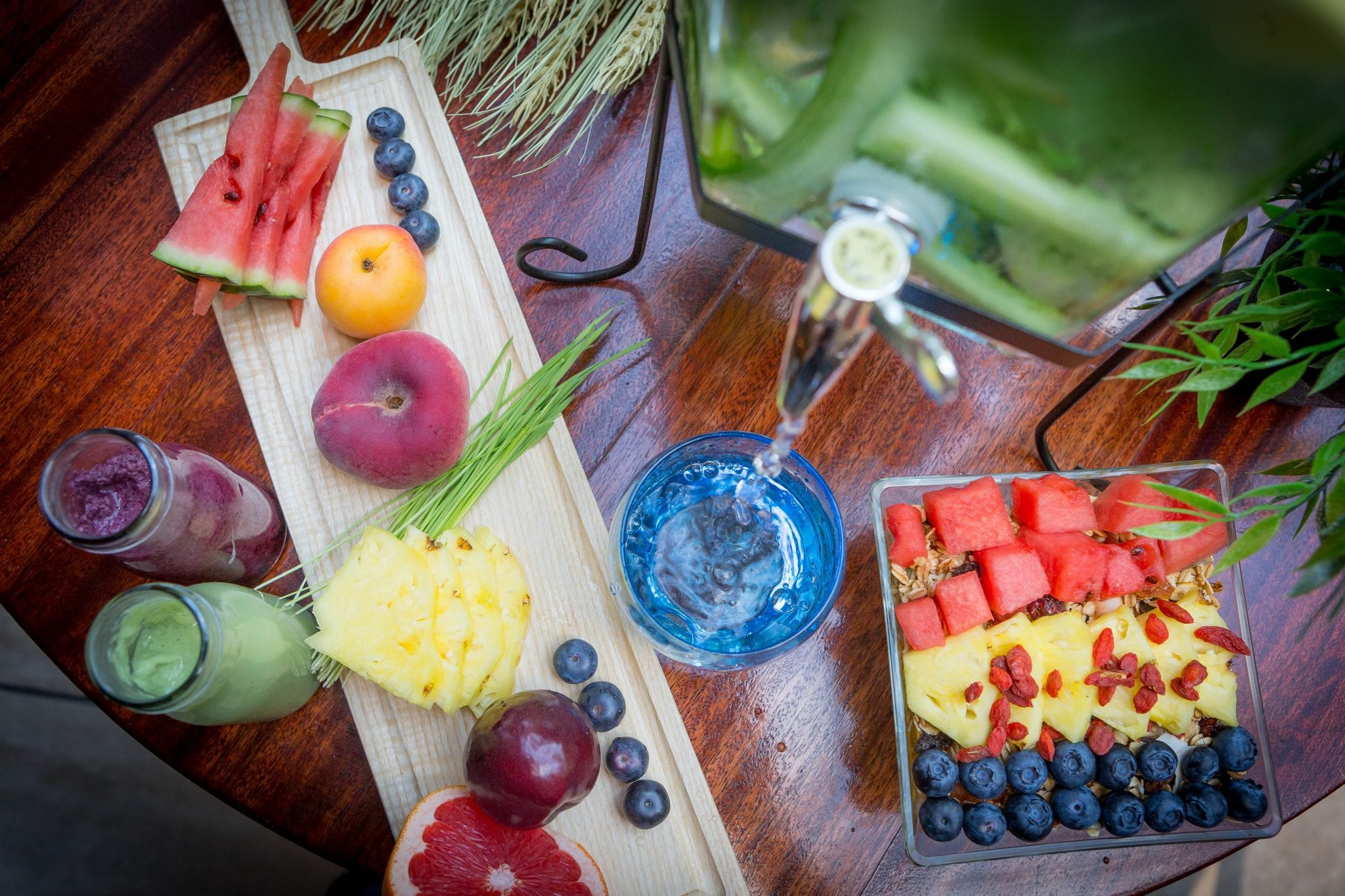 Vitality Breakfast fresh fruits at Clayton Hotel Manchester Airport