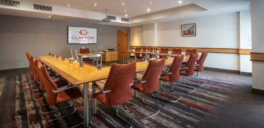 Meeting rooms at Clayton Hotel Manchester Airport