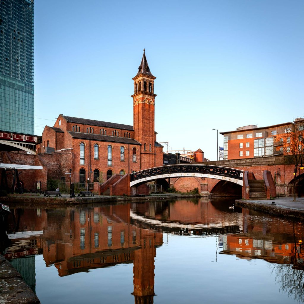 Castlefield Canal in Manchester